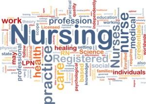 Nursing background concept