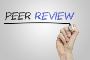 Peer review whiteboard