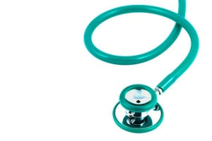 Stethoscope green color